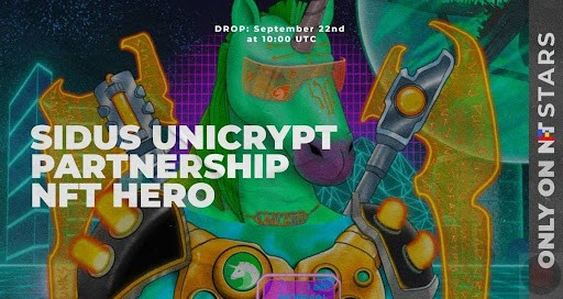 Unicrypt Falls Out of Black Hole Straight Into SIDUS City And Helps NFT Heroes Rebuild Their Economy – BTCHeights